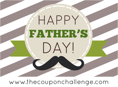 Fathers Day Free Printable Cards - Mustache Father's Day card