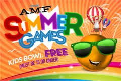 A Bowlmor AMF Summer Games Pass is your ticket to bowling, fun games, and great memories all summer. Pick up yours and make it your best summer ever!