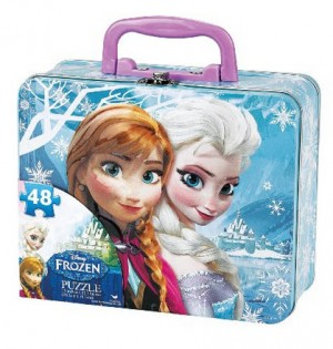 Disney Frozen Puzzle in Tin
