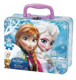 Disney Frozen Puzzle in Tin