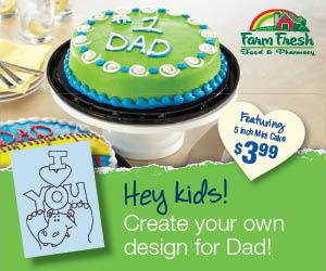 FF Dads day cake