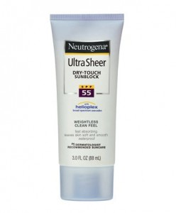 Neutrogena Ultra Sheer Dry-Touch Sunblock Broad Spectrum SPF
