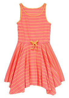 Stripe Handkerchief Dress
