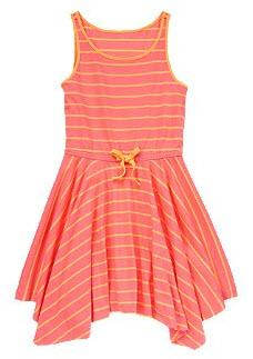 Stripe Handkerchief Dress