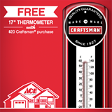 ace free thermometer