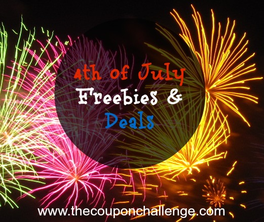 4th of July Freebies 2014