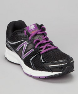 Black & Purple 490 Running Shoe