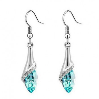 Crystal Marquise Teardrop Earrings