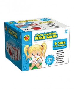 Early Learning Flash Card Set