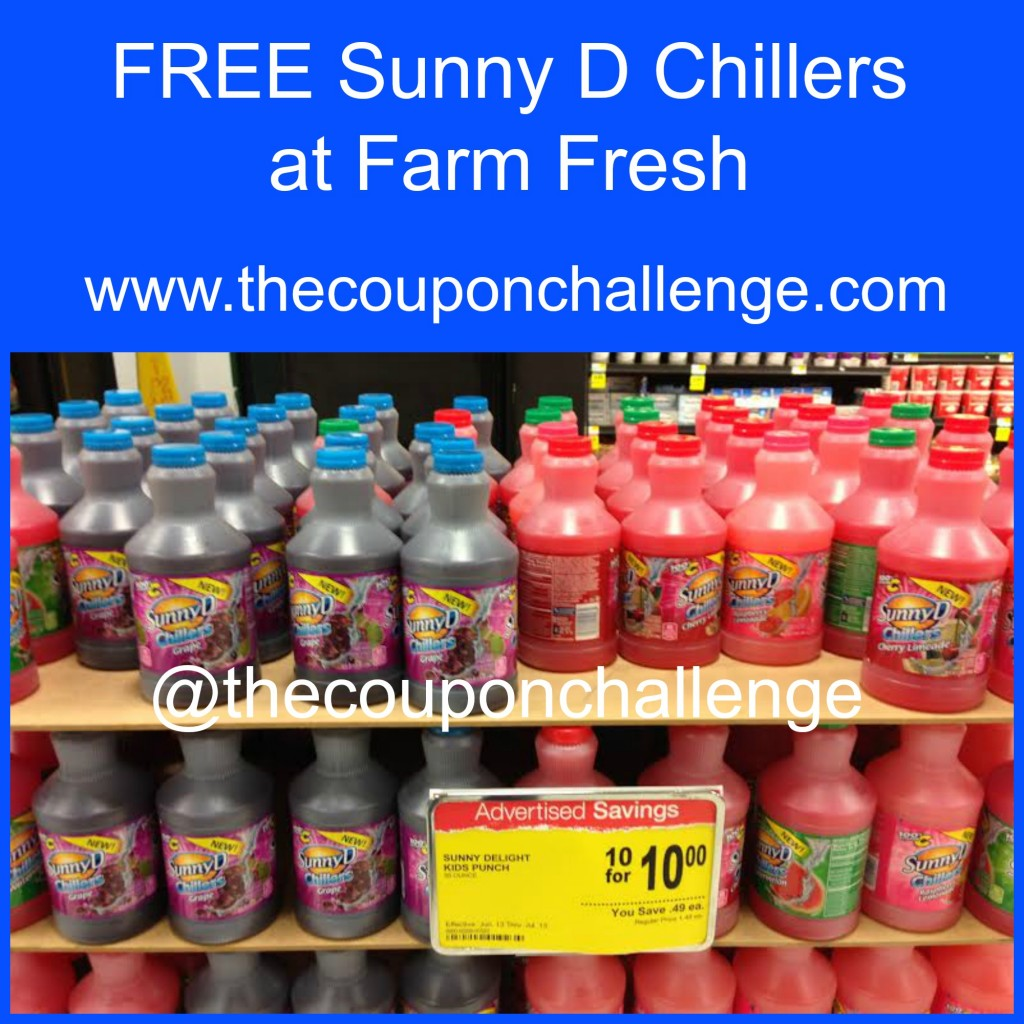 Sunny D Chillers Collage