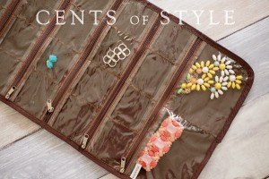 cents of style jewelry bags opened
