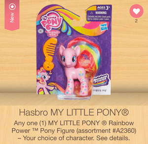my little pony rainbow friends ibotta