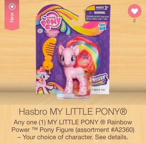 my little pony rainbow friends ibotta