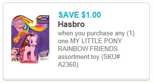my little pony rainbow friends printable coupon
