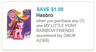 my little pony rainbow friends printable coupon