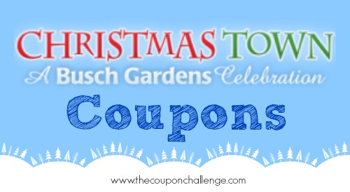 Busch Gardens Christmas Town Archives The Coupon Challenge