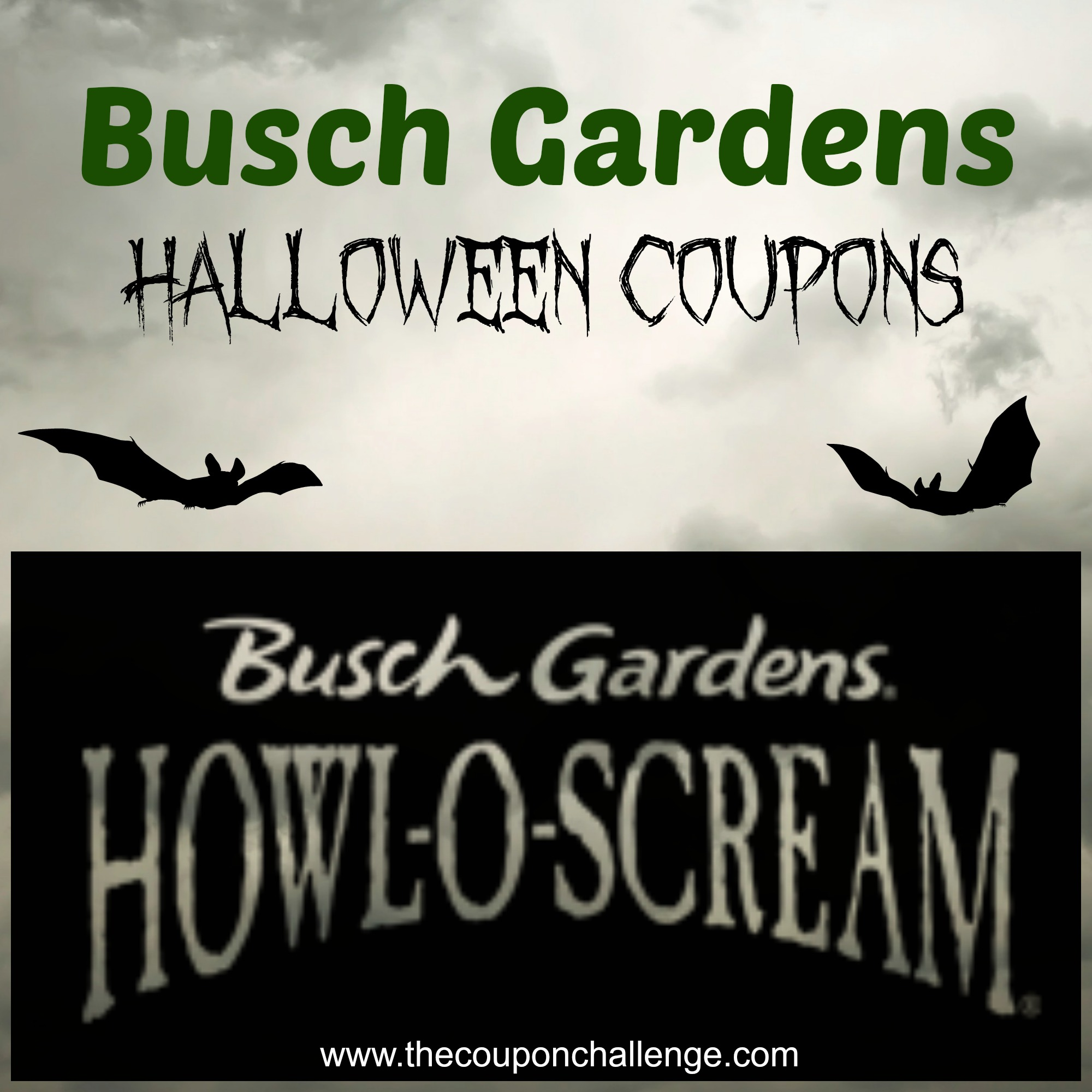 Busch Gardens Halloween Coupons