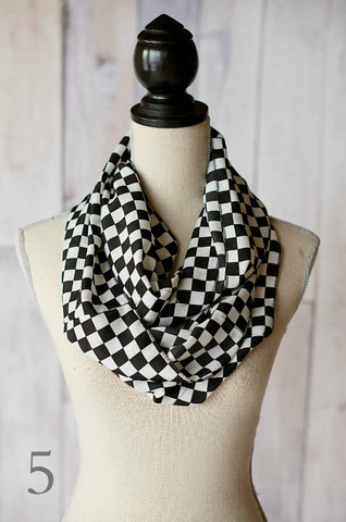 Graphic Infinity Scarves
