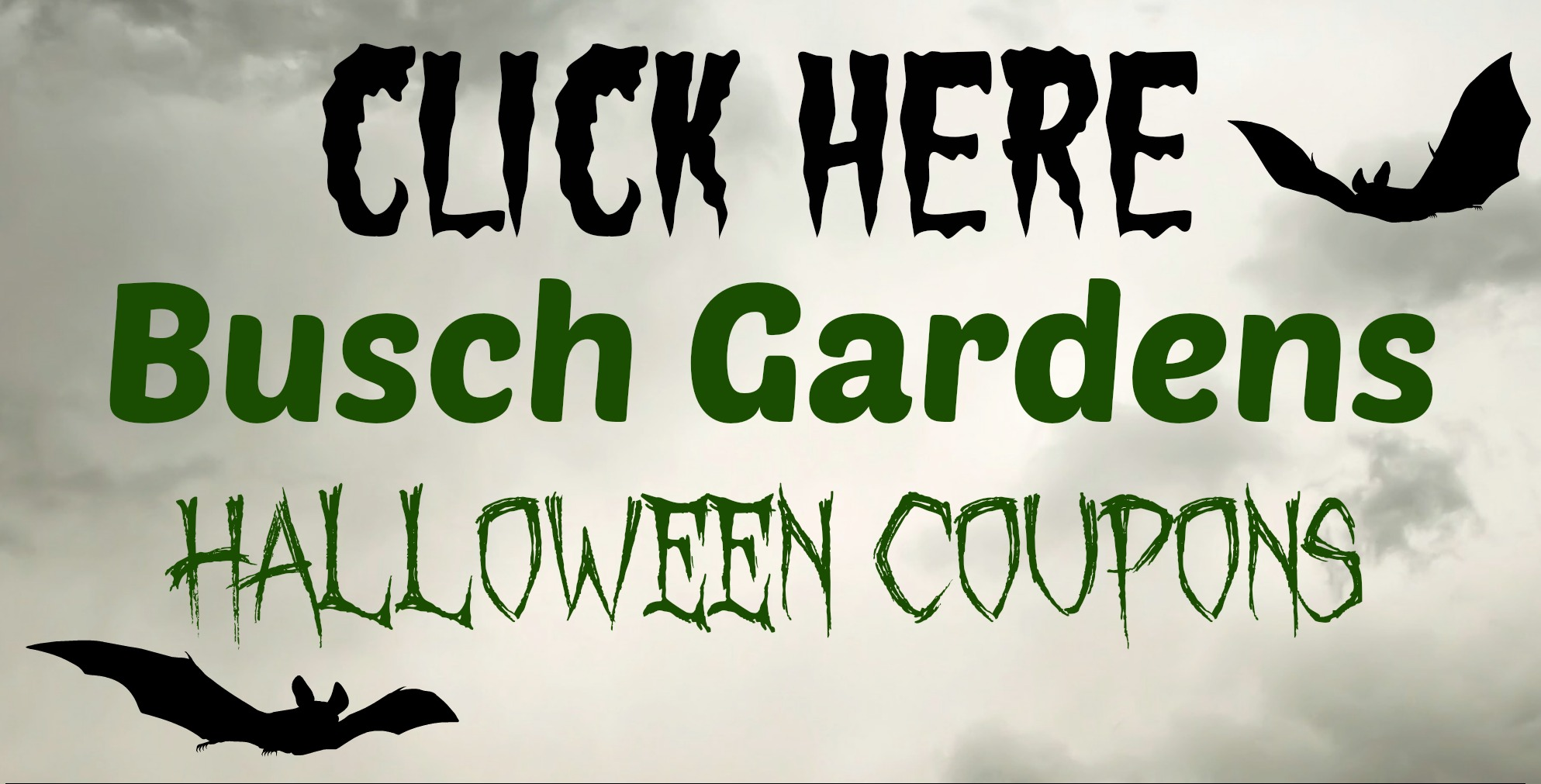 Howl-o-Scream at Busch Gardens Discount Coupons