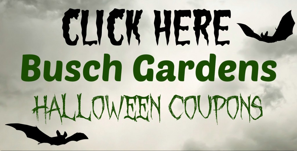 Busch Garden\'s Howl-o-Scream Discount Email List - The Coupon Challenge