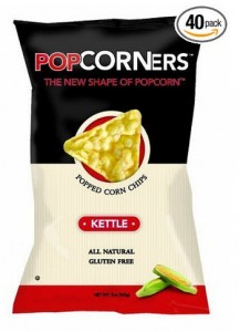 Medora Snacks Popcorners Popped Corn Chips, Kettle