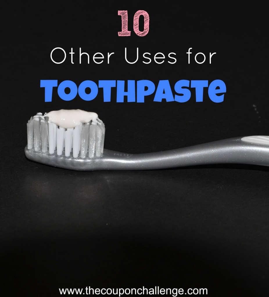 Other Uses for Toothpaste