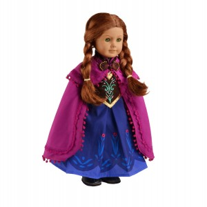 disney frozen anna princess dress for american girl doll