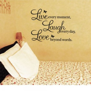 Amazon Live Laugh Love Wall Decal Only  The Coupon - Wall decals live laugh love