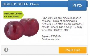 plums saving star