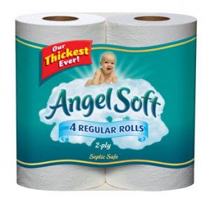 walmart angel soft 4 pack