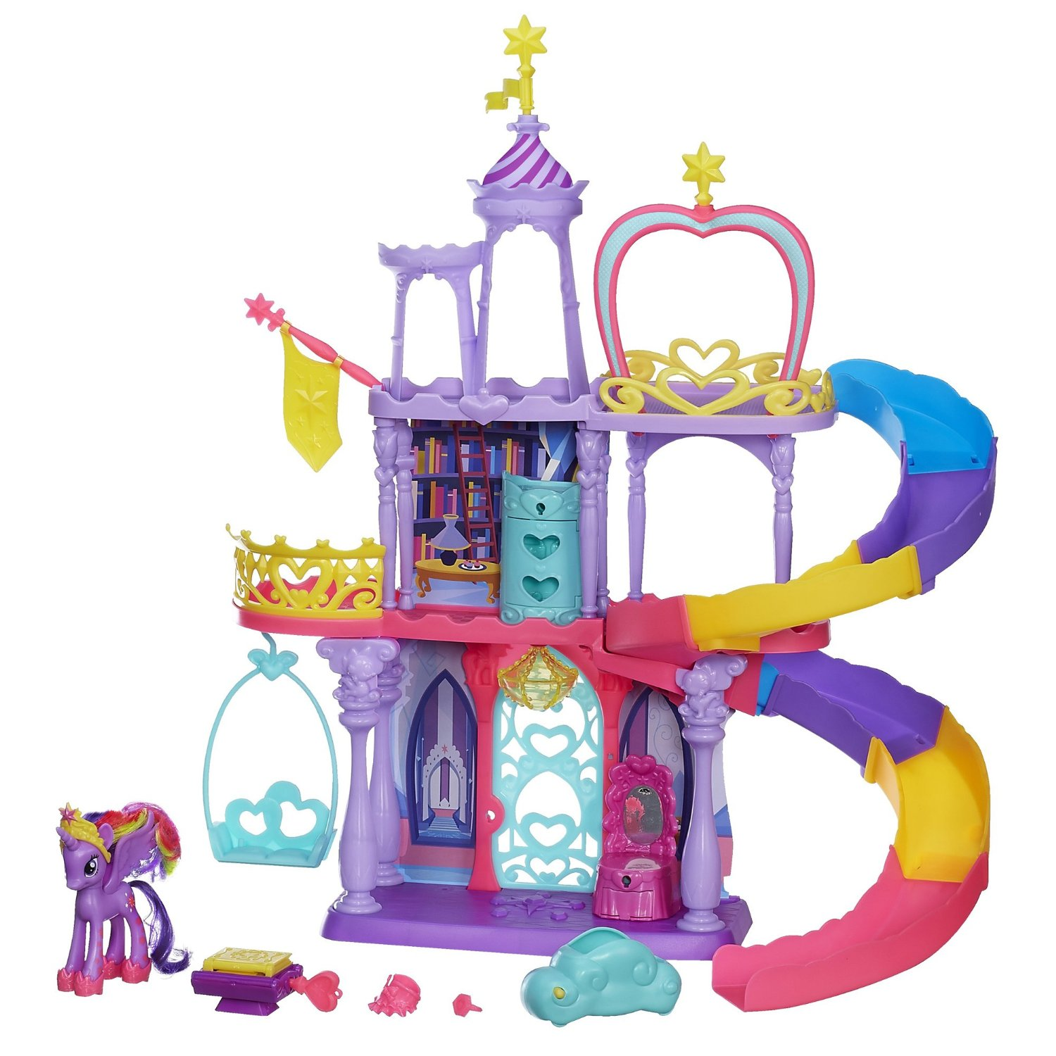 Amazon My Little Pony Friendship Rainbow Kingdom Playset 29 99 The Coupon Challenge