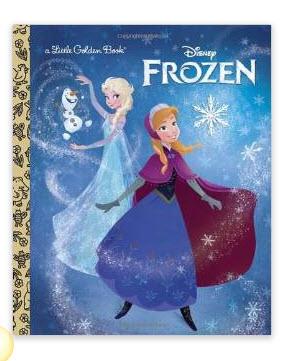 Frozen Little Golden Book (Disney Frozen) Hardcover