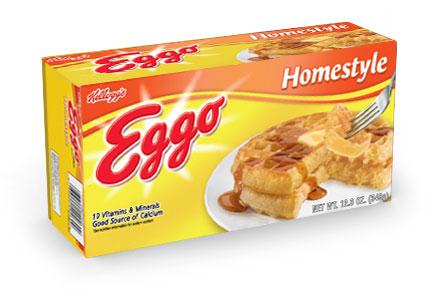 Homestyle Kellogg's Eggo Waffles