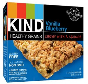 KIND Vanilla Blueberry bars