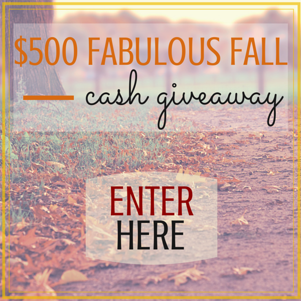 Fall Giveaway logo