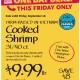 ODD 9-26 Cooked Shrimp wine
