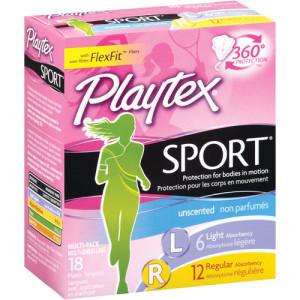 playtex sport tampons