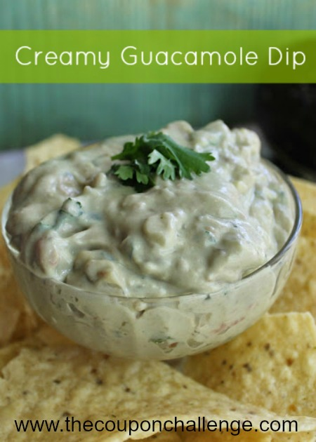 Easy Guacamole Dip Recipe