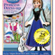 Frozen Anna Wooden Magnetic Dress Up Doll