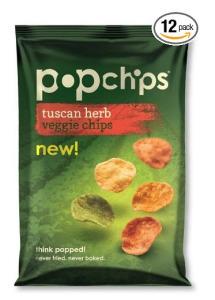 Popchips veggie chips TUSCAN HERB