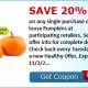 pumpkin coupon