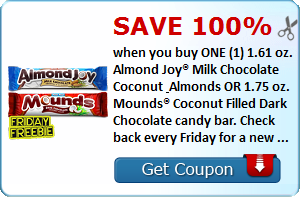 almond joy coupon