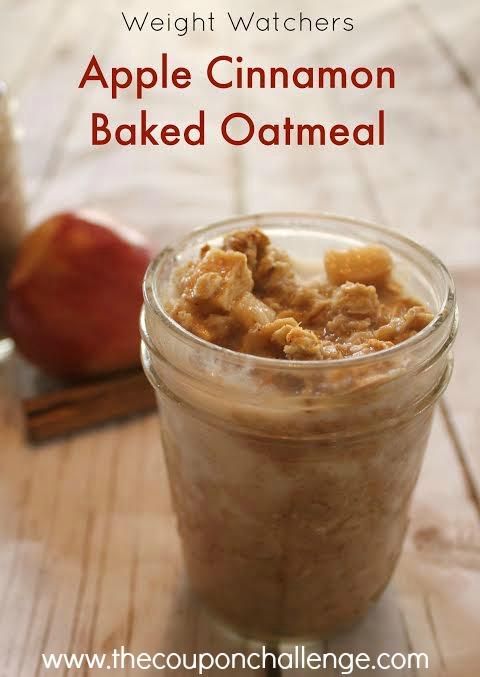 weight watchers oatmeal recipe