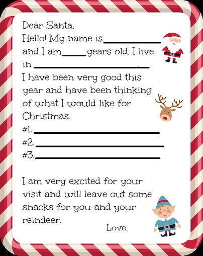 Santa Letter printable