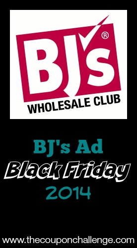 2014 BJ's Black Friday Ad