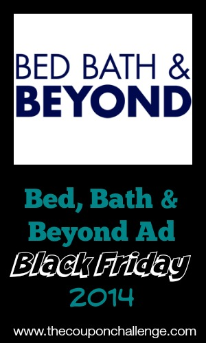 2014 Bed Bath & Beyond Black Friday Ad