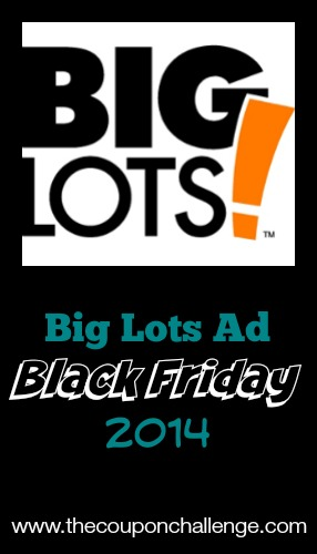 2014 Big Lots Black Friday Ad
