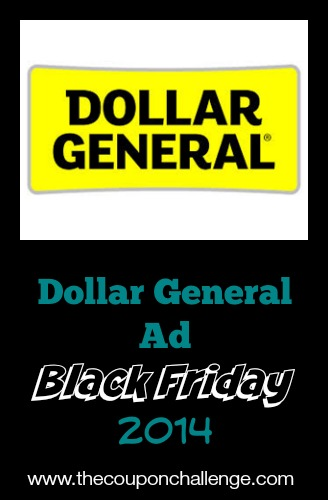 2014 Dollar General Black Friday Ad