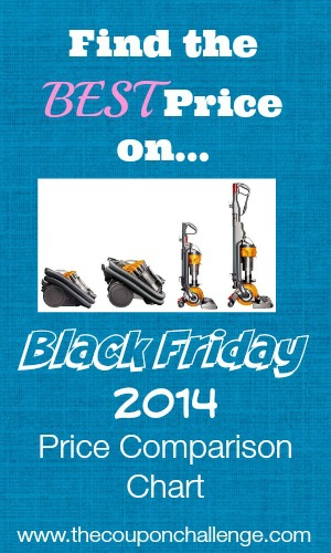 2014 Dyson Black Friday Price Comparison
