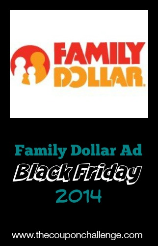 2014 Family Dollar Black Friday Ad